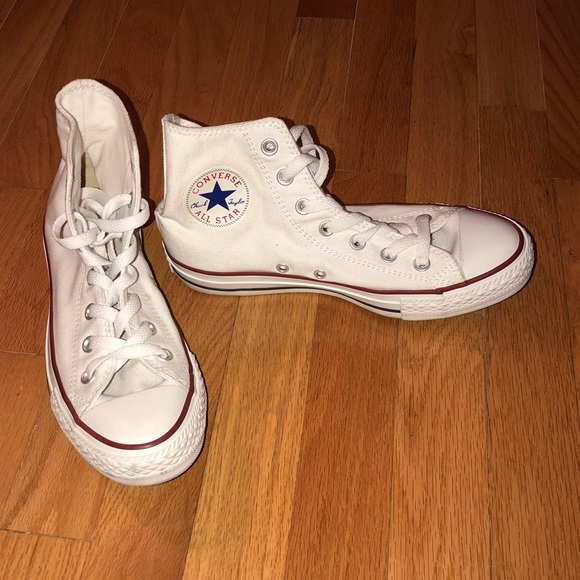 Converse Shoes | White High Top